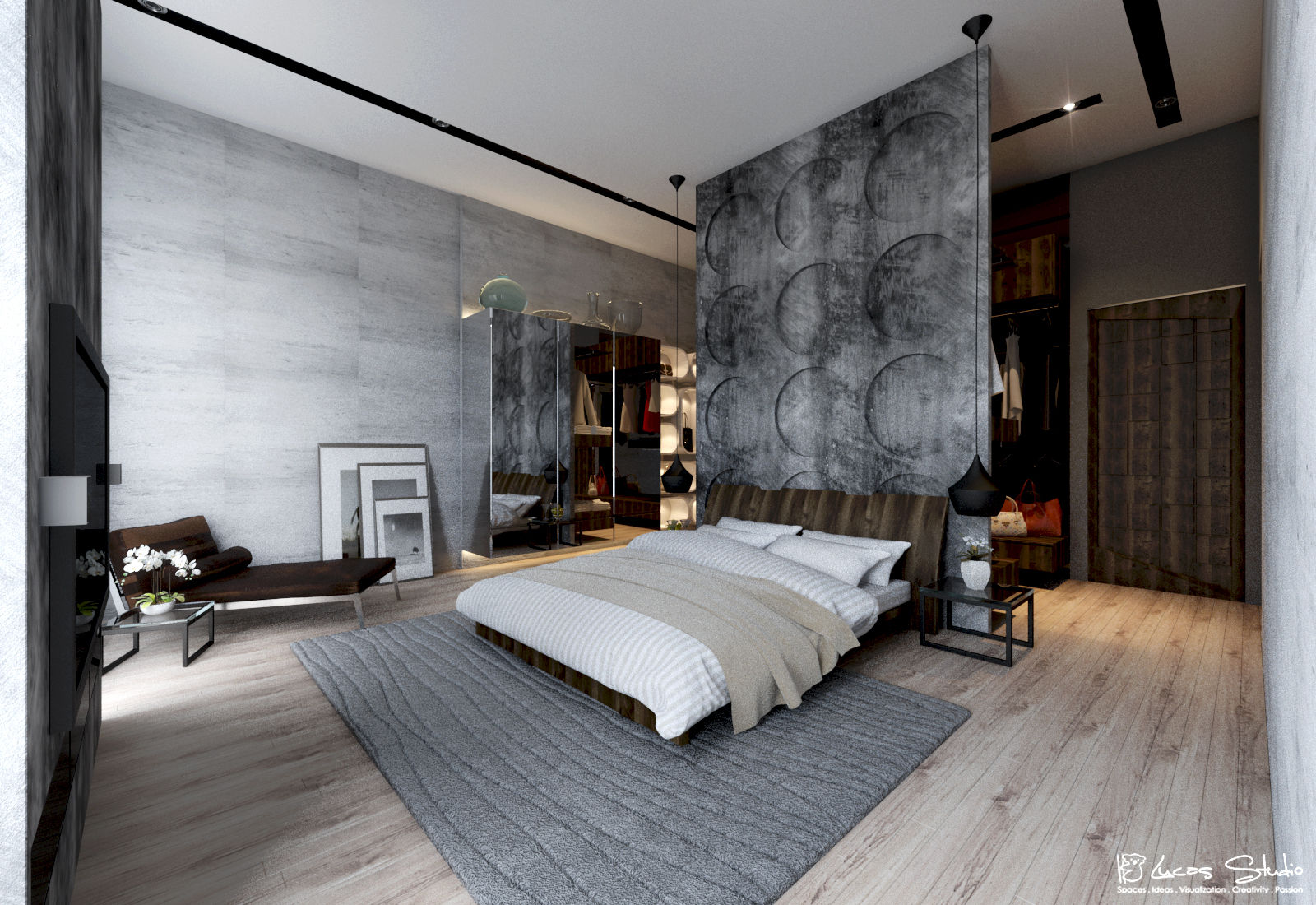 10 Beautiful Examples Of Bedroom Accent Walls - D.Signers on Teenage:rfnoincytf8= Room Designs  id=24614