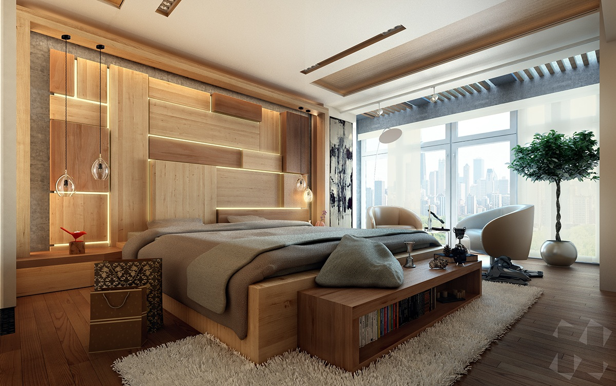 10 Beautiful Examples Of Bedroom Accent Walls   D.Signers